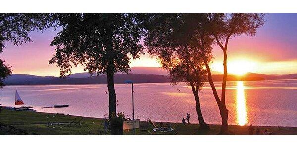 3-4denní pobyt pro DVA na břehu Lipenské přehrady