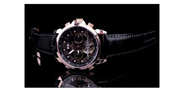 2490 Kč za luxusní pánské hodinky Simpar Gold Luxury Element. Sleva 79 %.