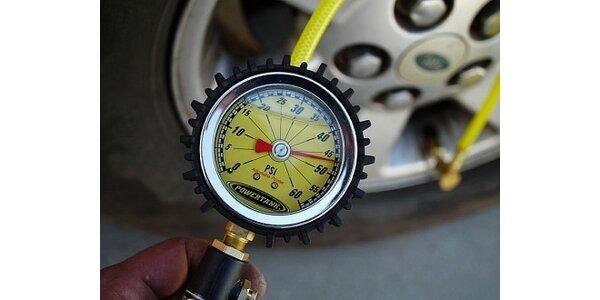 Jen 399 Kč za výměnu 4 pneumatik s vyvážením. Sleva 42 %