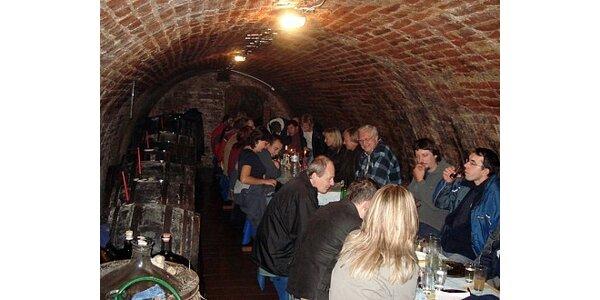 Pronájem místa ve vinném sklípku v hlavním městě vína Valticích. Sleva 50 %