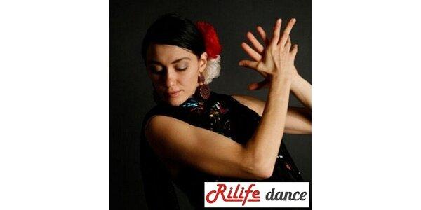 1050 Kč za 10 lekcí Flamenca v taneční škole Rilife. Sleva 42 %