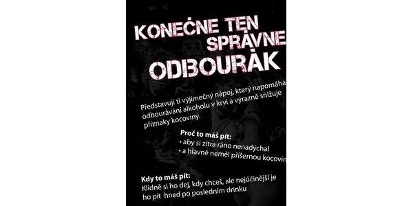 114 Kč za sadu 3ks originálního nápoje AlcoEx na odbourání alkoholu v krvi