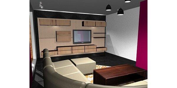 Jen 1499 Kč za návrh a design interiéru v hodnotě 4500 Kč