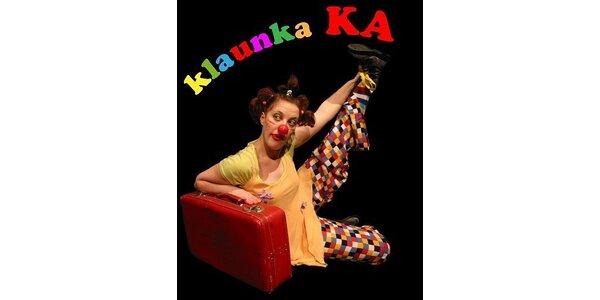 1500 Kč za klaunské představení v hodnotě 3000 Kč