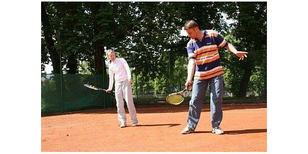 470 Kč za privátní tenisové lekce s profesionálním trenérem. Sleva 50 %