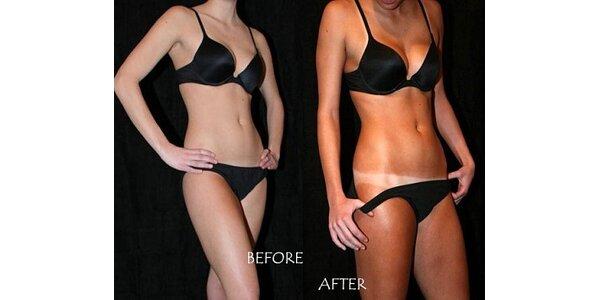 199 Kč za nástřikové opálení těla bez UV záření v hodnotě 360 Kč.
