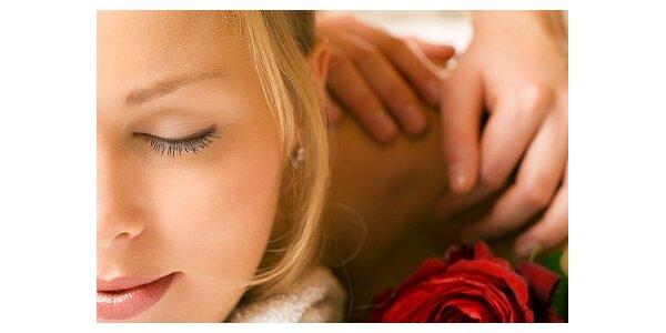 Relaxujte při klasické masáži zad a šíje za pouhých 199 Kč. Sleva 26 %