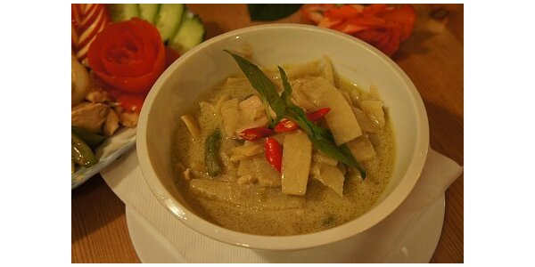 159 Kč za tradiční thajskou večeři dle originální receptury pro 1 osobu