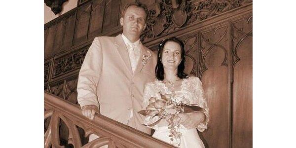 990 Kč za fotografování svatebního obřadu se slevou 50%