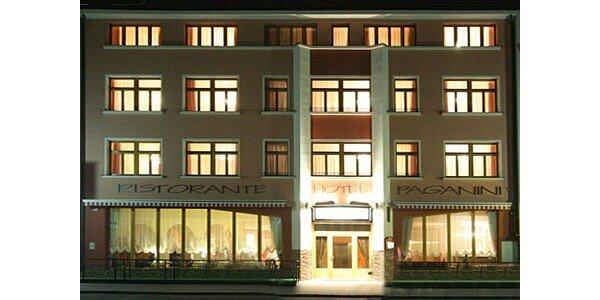 2000 Kč za dvě noci pro DVA v luxusním hotelu PAGANINI v hodnotě 3400 Kč.