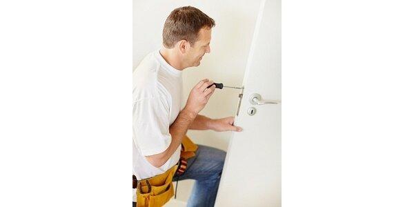 220 Kč za práci všeho druhu - většina oprav v domácnostech se slevou 45 %