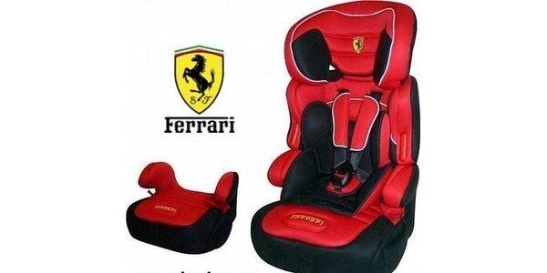 1849 Kč za autosedačku Ferrari BeLine SP 2010 s alarmem! Sleva 36 %!