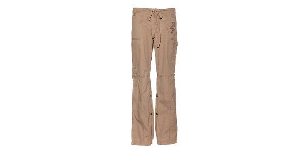 Dámské béžové kalhoty Trimm
