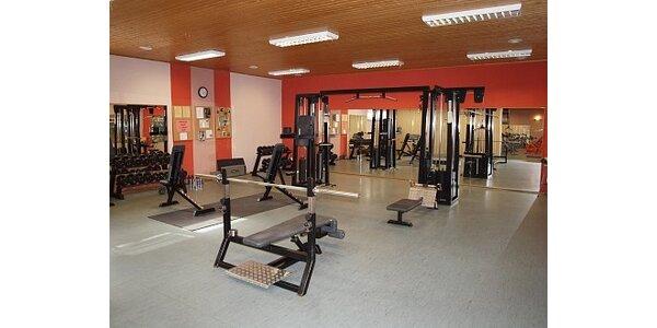 250 Kč za 10 vstupů do posilovny ve Squash a Fitness v Cihlářské