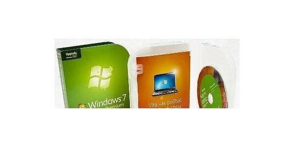 1999 Kč za Microsoft Windows 7 Home Premium 32/64Bit Czech VUP