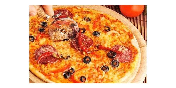 69 Kč za výbornou velkou pizzu v Pizzerii Premier se slevou 42 %