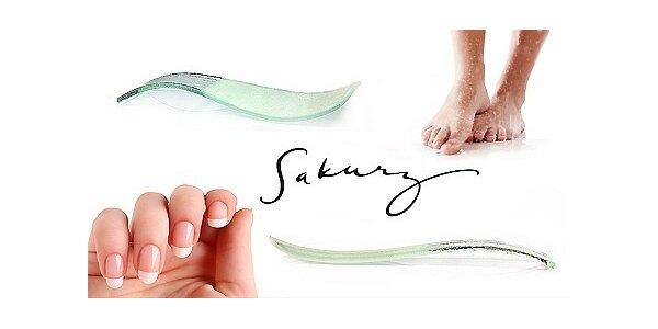 249 Kč za set skleněných tvarovaných pilníků Sakury v hodnotě 500 Kč