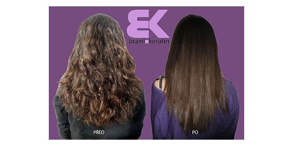 1900 Kč za brazilský keratin RLIZZ -přírodní narovnávání a ozdravení vlasů
