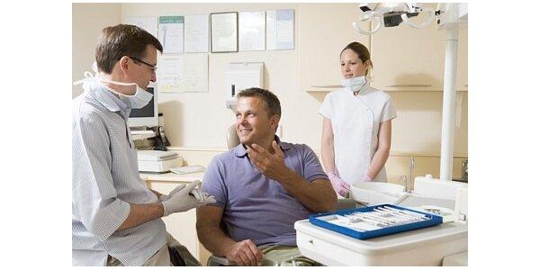 3500 Kč za šetrné profesionální ordinační bělení zubů v hodnotě 6000 Kč