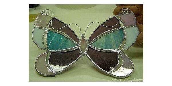 690 Kč za výuku Tiffany vitráží v dílně Studia Wallerie v hodnotě 1400 Kč