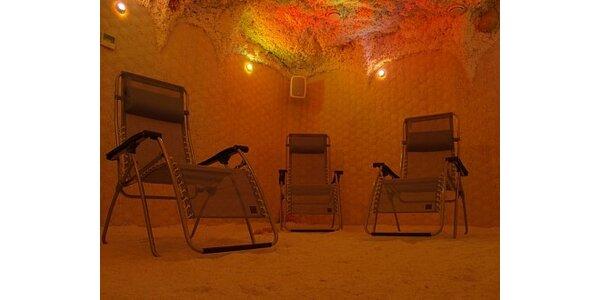 500 Kč za vstup do solné jeskyně - sleva 50 % na permanentky