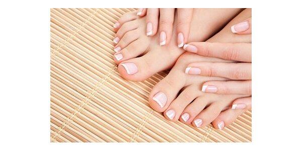 250 Kč za gelové nehty na Vaše nožky se slevou 50 %