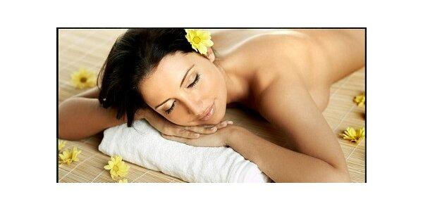 294 Kč za aroma energetickou masáž se slevou 51 %