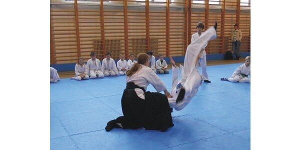 Jen 150 Kč za 1 měsíc cvičení aikido pro mládež a dospělé od 14 - 99 let