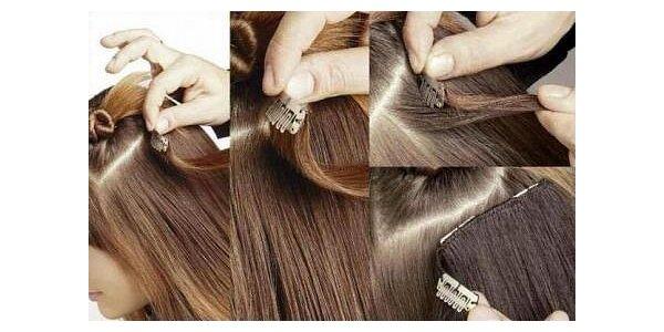 999 Kč za jedinečnou metodu prodlužování vlasů Clip-in 100% lidskými vlasy