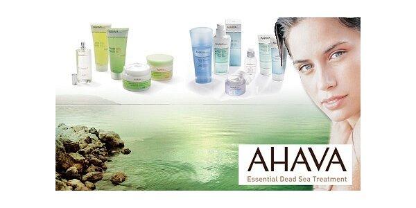 325 Kč za poukaz na luxusní kosmetiku AHAVA z Mrtvého moře v hodnotě 500 Kč
