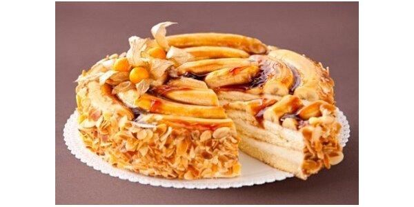 499 Kč za banánový dort z nabídky DortyPraha.cz. Objevte pravou chuť banánů