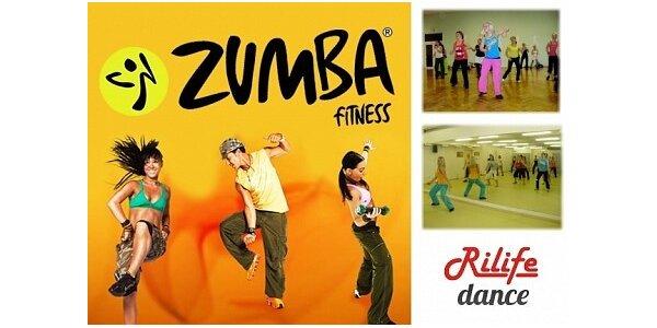 179 Kč za 3 lekce Zumby v taneční škole Rilife. Sleva 50%