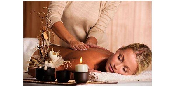 Jen 289 Kč za relaxační aroma masáž v hodnotě 600 Kč