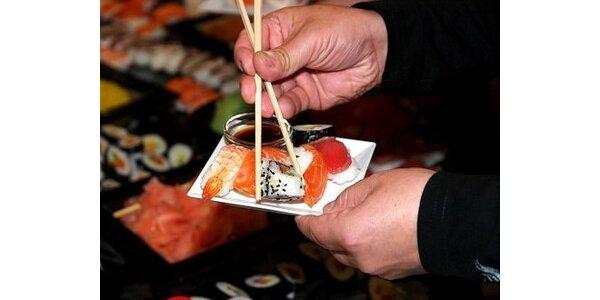 3480 Kč za kurz sushi pro 2 až 4 osoby u Vás doma v původní hodnotě 5800 Kč