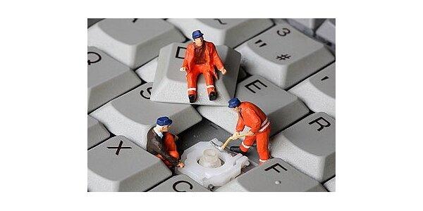 125 Kč za čištění PC a notebooků od prachu v hodnotě 250 Kč ve Slaném