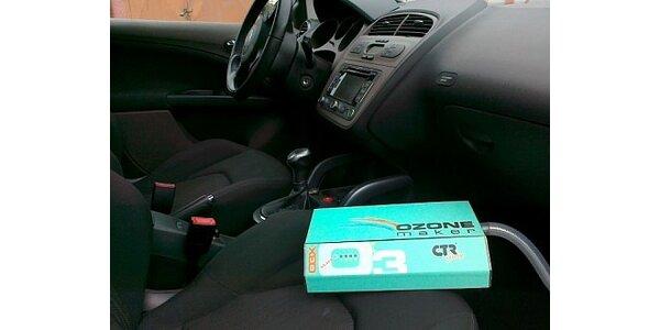 Jen 320 Kč za kompletní dezinfekci klimatizace Vašeho vozu pomocí ozonu