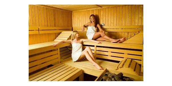 460 Kč za privátní saunu s whirlpoolem a s odpočívárnou pro max. 4 osoby
