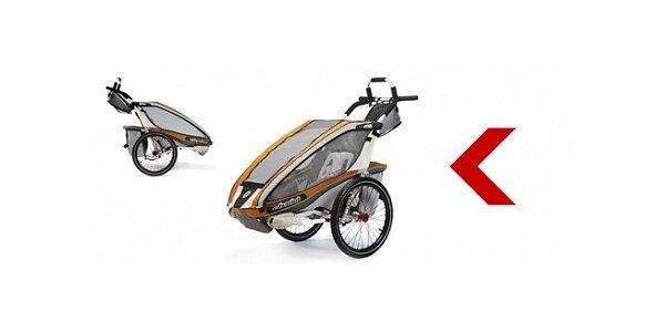 500 Kč za víkendové půjčení vozíku CHARIOT CX1 s 50% slevou