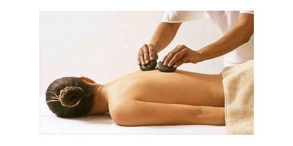 500 Kč za masáž celého těla lávovými kameny se slevou 27 %