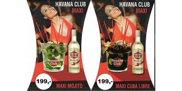 199 Kč za vstup pro 4 osoby a Maxi Mojito nebo Cuba Libre v hodnotě 600 Kč