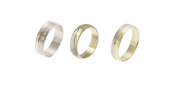 1500 Kč za kupon v hodnotě 2000 Kč na zlaté snubní prsteny