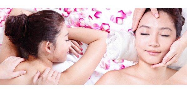 Čínská energetická masáž - 60 minut relaxu pro celé tělo