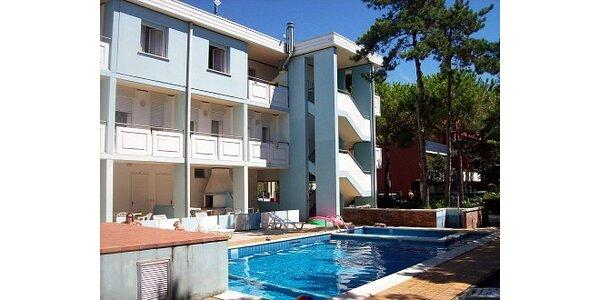 6000 Kč za týdenní pobyt u moře v apartmánech pro 4-7 osob v Bibione