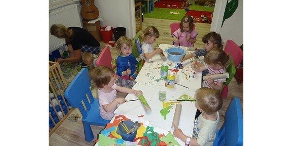 245 Kč za půldenní školičku formou dílniček pro děti od 2 let v ceně 490 Kč