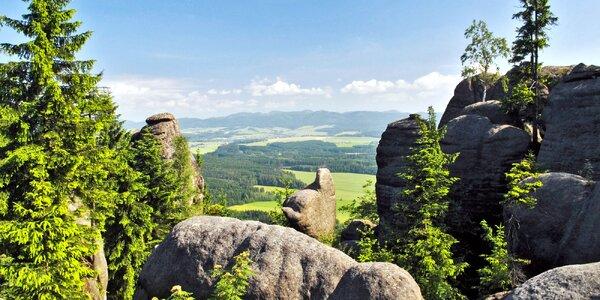 Adršpašsko-teplické skaly: penzion až pro 12 osob