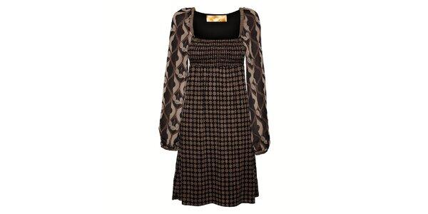 Dámské šedobéžové šaty Aniye By