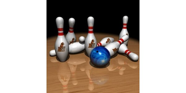 33 Kč za 2 hodiny bowlingu v původní hodnotě 438 Kč