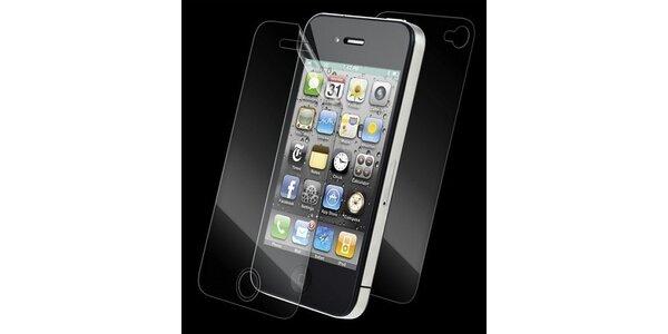 80 Kč za ochrannou fólii na iPhone 4 vč. fólie na zadní část telefonu