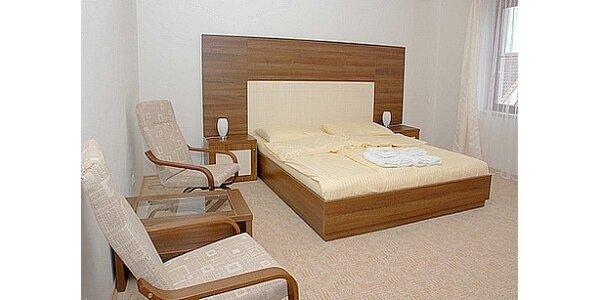 Jen 2510 Kč za víkendový pobyt v hotelu ART Písek s polopenzí pro dvě osoby