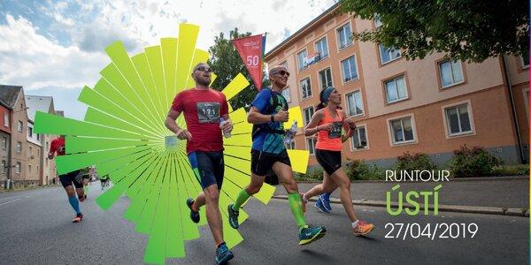 RunTour 2019: startovné na běh v Ústí nad Labem